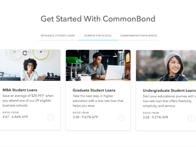 This image is used to help give users a better idea about the values and offerings of CommonBond.