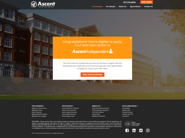 Private Student Loans with Ascent Independent 4