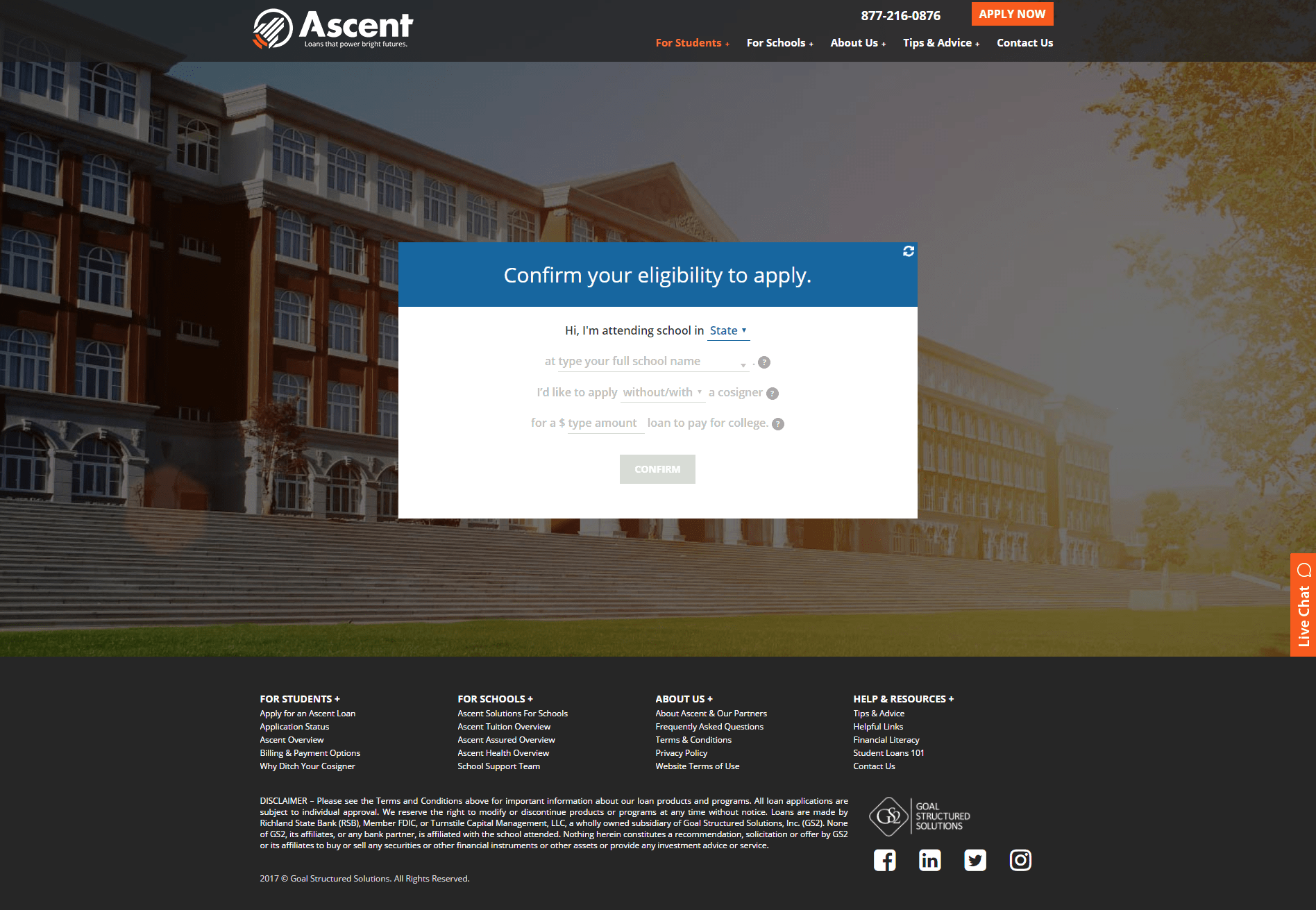 Private Student Loans with Ascent Independent 7
