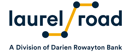 Large Laurel Road logo.