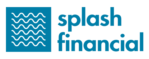 This image is a logo for Splash Financial.