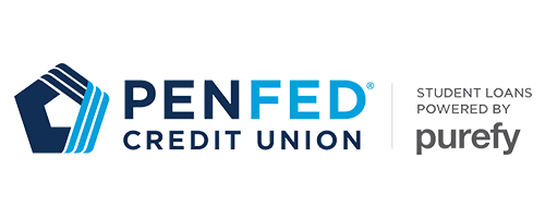 This is the PendFed logo indicating that they are working with the lender Purefy